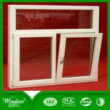 Casa barata UPVC Windows de los precios directos de la fábrica