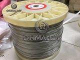 80/20 alambre termoeléctrico 19 de las aleaciones del nicrom del alambre de resistencia del Cr del Ni trenza 0.523m m para la pista de calefacción Repairment