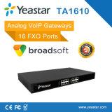 Sternchen T38 unterstützte 16 FXO Kanäle VoIP analogen FXO Kommunikationsrechner