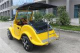 Автомобиль сбор винограда 4 мест модный электрический для туристской области