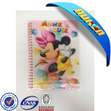 Customized 3D Lenticular Cover Spiral Notebook