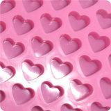 Moule de bâton de gâteau de bruit de coeur de 55 silicones, moule de chocolat