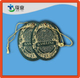 Бирки Hang Embeded штемпелевать и логоса фольги