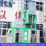 建物の起重機のための二重ケージの構築の揚げべらSc200/200の構築の起重機