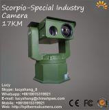 Câmara de imagens térmicas à prova de segurança de vídeo vigilância sem fios 17km