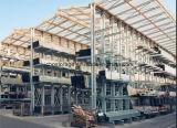 Industrielles vorgewähltes Hochleistungslager galvanisierte freitragende Speicherzahnstange