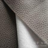 Tessuto del cuoio del poliestere impresso pelle scamosciata composta per il sofà