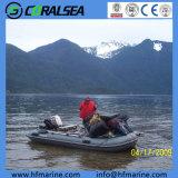Barca gonfiabile Hsd290 dello zodiaco del kajak di pesca del PVC