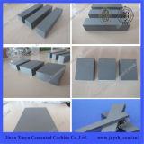 Ferramenta de placa de carboneto de tungstênio Yg15 com boa resistência ao desgaste