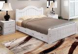 소나무 Pupular 단단한 2인용 침대 (M-X3024)