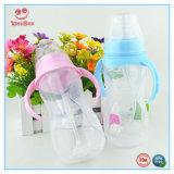 Botellas que introducen del cuello del bebé ancho de gran tamaño de los PP para el muchacho y la muchacha