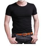 T-shirt imprimé personnalisé en coton 3D pour homme (M002)