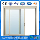 Janelas de vidro temperado único de alumínio/ Alumínio e vidro corrediço de porta
