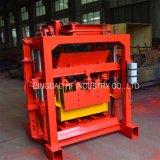 Mini pequeño bloque del ladrillo del cemento de la prensa de la mano Qt4-35 que hace la máquina