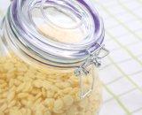 800ml de grote Kruik van de Opslag van het Voedsel van het Glas van de bochtig-Hals met Luchtdicht Deksel