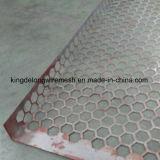 ステンレス鋼の六角形の穴があいた金属の網