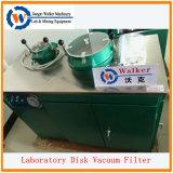 Vacuümfilter voor laboratoriumschijven voor gebruik met vaste vloeistof