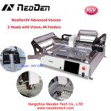 Neoden3V ODM SMD, fabricante de China para sobremesa coger y colocar la máquina-44 alimentadores