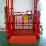 Beweglicher hydraulischer Lager-Ladung-Aufzug-vertikaler Führungsleiste-Ladung-Aufzug