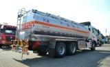 Caminhão-tanque de combustível de alumínio Sinotruk HOWO T5g 6X4
