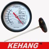Termometro bimetallico Heatproof dell'alimento della carne (KH-M048)