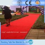 Анти--Прыгните верхний красный ковер Китая