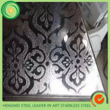 304 Beschaffenheits-prägendes beste Qualitätsdekoratives aus rostfreiem Stahl Blatt