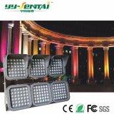 高い明るさ防水IP66 24*4W LEDの洪水ライト屋外のフラッドライト