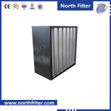 VバンクHEPAの空気浄化フィルター