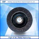 Disco do abrasivo da roda da aleta do óxido de alumínio