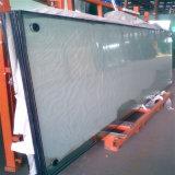 / Plat en verre trempé incurvé isolé pour la construction de Windows/ PORTES