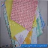 Toalhetes não tecidos Spunlace colorido grossista para cozinha