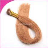 Trama Pre-Tenuta da adesivo dei capelli umani del Virgin di estensioni dei capelli