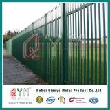 Revêtement en poudre palissade clôture/panneaux de clôture de la palissade en métal/clôture de la palissade