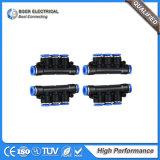 Connecteur rapide de composants hydrauliques et pneumatiques de système de régulation