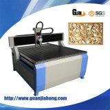 1212 madeira, acrílico, PVC, MDF, ABS, metal, máquina do router do CNC