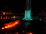 Musical carré Fountain au Nigéria