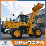 中国の小型ローダー2.5トンのローダーのフロント・エンド車輪のローダーの土工の機械装置ISO/Ce