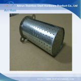 Filtro de metal perforado para equipamiento textil