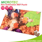 Sublimation blank MDF photo puzzle