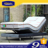 Neuer Entwurf elektrisches Homecare Hallo-Niedriges justierbares Bett mit Speicher Faom Matratze