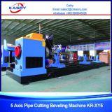 Fornitore della tagliatrice del plasma del tubo del tubo di CNC del acciaio al carbonio per ingegneria navale Kr-Xy5
