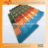 Haute précision et de bonne qualité chaude/laminés à froid galvanisé à chaud de matériaux de construction de feux de croisement de la bobine de la plaque de métal de toiture en carton ondulé en acier
