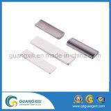 Imán cuadrado cuadrado rectangular de la barra con el epoxy que platea