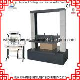 Karton-Kasten-Komprimierung-Stärken-Prüfungs-Maschine/runzelte Kasten-zusammenpressende Prüfvorrichtung