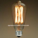 D95 포도 수확 LED 필라멘트 전구, 부드럽게 2700K 백색, 60W 백열 동등물