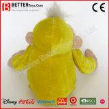 Mono suave de la felpa del juguete del animal relleno de Coustimize para los niños