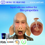 Китай сделал рециркулированным тоном кожи жидкостную силиконовую резину для свойств пленки
