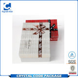 Kundenspezifisches Firmenzeichen druckte Kraftpapier aufbereiteten Geschenk-Papierkasten