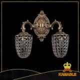 Lampe de mur en cristal aristocratique classique d'hôtel (1705-2FP)